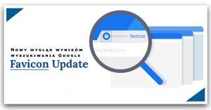 Zmiany w wyszukiwarce Google - Favicon update